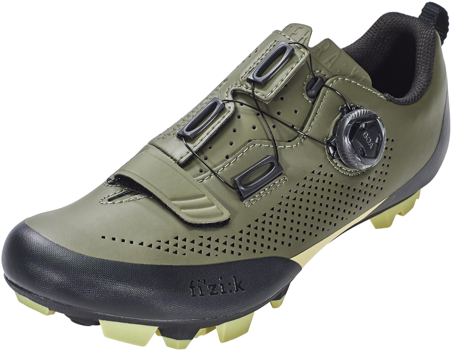 Fizik Terra X5 Chaussures VTT Homme, military greentangy green